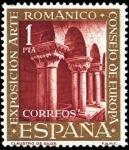 Sellos de Europa - España -  El arte romanico