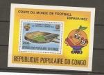 Sellos del Mundo : Africa : República_del_Congo : Mundial 82 España