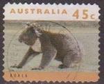 Sellos de Oceania - Australia -  AUSTRALIA 1993 Scott 1278 Sello Animales Koala Andando Usado Michel 1406