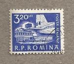 Sellos de Europa - Rumania -  Aeropuerto
