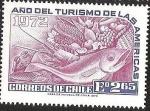 Sellos de America - Chile -  AÑO DEL TURISMO DE LAS AMERICAS
