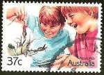 Sellos del Mundo : Oceania : Australia : AUSSLE KIDS