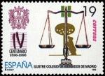 Sellos del Mundo : Europa : España : Centenario del ilustre colegio de abogados de Madrid