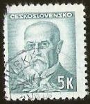Sellos del Mundo : Europa : Checoslovaquia : PRESIDENTE TOMAS GARRIGUE MASARYK