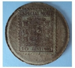 Sellos del Mundo : Europa : España :  República Española / Sello Moneda