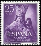 Sellos de Europa - España -  Año Mariano