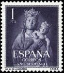 Sellos del Mundo : Europa : España : Año Mariano