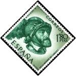 Sellos de Europa - España -  IV Centenario de la muerte de Carlos Ide España y V de Alemania