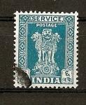 Sellos de Asia - India -  Columna de Asoka / Valor en Naye Paisa.