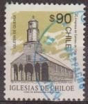 Sellos de America - Chile -  CHILE 1993 Scott 1059 Sello Iglesia de Chiloe Quehui usado 90$