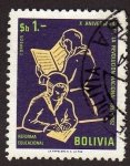 Sellos de America - Bolivia -  10º Aniversario de la reforma nacional