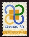 Sellos de America - Uruguay -  Abuexpo