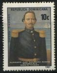 Sellos del Mundo : America : Rep_Dominicana : Scott C332 - Personajes - Almirante Juan Alejandro Acosta