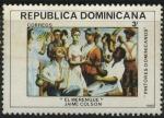 Sellos del Mundo : America : Rep_Dominicana : Scott 836 - El Merengue - Jaime Colson