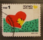 Sellos del Mundo : Asia : Israel :  with love