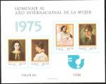 Sellos de America - Chile -  HOMENAJE AÑO INTERNACIONAL DE LA MUJER