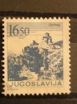 Sellos de Europa - Yugoslavia -  Paisaje con iglesia