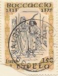 Sellos de Europa - Italia -  Boccaccio 1313-1375