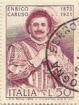 Sellos del Mundo : Europa : Italia : Enrico Caruso 1873-1921