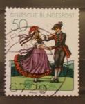 Sellos del Mundo : Europa : Alemania :  baile tipico