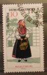 Sellos del Mundo : Europa : Alemania : traje tipico