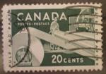 Sellos de America - Canadá -  pulp and paper