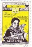 Sellos del Mundo : America : Guatemala : Francisco Ximenez