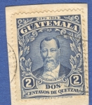 Sellos del Mundo : America : Guatemala : Justo Rufino Barrios 1929 n8