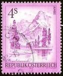 Sellos de Europa - Austria -  OBEROSTERREICH - ALTA AUSTRIA (ALMSEE)