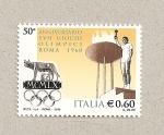 Sellos de Europa - Italia -  50 Aniv. Juegos Olímpicos de Roma