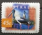 Sellos de Oceania - Australia -  jabiru