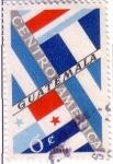 Sellos de America - Guatemala -  Banderas de los Estados Centroamericanos
