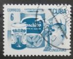 Sellos de America - Cuba -  exportaciones cubanas, conservas