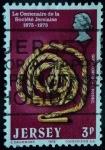 Sellos del Mundo : Europa : Isla_de_Jersey : Centenario de la Sociedad de Jersey