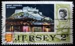 Sellos del Mundo : Europa : Isla_de_Jersey : Monte Orgueil