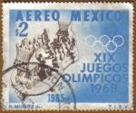 Sellos del Mundo : America : México : XIX Juegos Olimpicos MEXICO 68