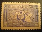 Sellos del Mundo : Asia : Turquía : Imperio Otomano: mapa