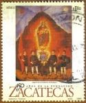 Sellos del Mundo : America : México : Fundacion ZACATECAS
