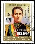 Sellos de America - Bolivia -  SERIE PRESIENTES DE BOLIVIA
