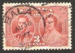 Sellos de America - Canadá -  196 - conmemoración de la coronación de george VI