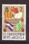Sellos del Mundo : America : San_Cristóbal_y_Nevis : Historia de las islas