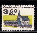 Sellos de Europa - Checoslovaquia -  EDIFICIO