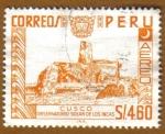 Sellos de America - Perú -  Observatorio Solar de los Incas