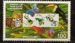 Sellos de Europa - Alemania -  schutzt die tropischen lebensraume