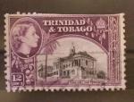 Sellos del Mundo : America : Trinidad_y_Tobago : town hall san fernando