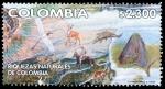 Sellos del Mundo : America : Colombia : SERIE RIQUEZAS NATURALES DE COLOMBIA