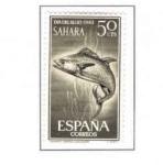 Sellos del Mundo : Europa : España :  SAHARA EDIFIL 223 (8 SELLOS )INTERCAMBIO