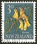 Sellos del Mundo : Oceania : Nueva_Zelanda : KOWHAI