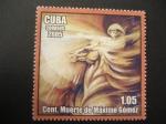Sellos de America - Cuba -  Centenario de la muerte de Máximo Gómez