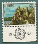 Sellos de Europa - Yugoslavia -  EUROPA  CEPT - Fortaleza de Golubac - Serbia